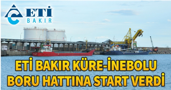 BORU HATTINA START VERİLDİ